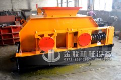 2PG1000X700连轴式对辊破碎机发货图片_发往广东湛江_玄武岩制砂