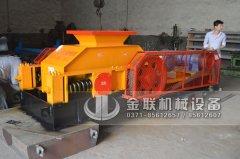 2PG800X600对辊破碎机发货图片_发往重庆_鹅卵石制砂