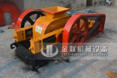 2pg400X250小型对辊破碎机发货图片_发往湖南长沙_破碎石英沙