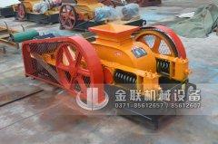 2pg400X250小型对辊破碎机发货图片_发往江苏连云港_破水渣