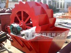 轮斗式洗砂机常见故障和解决方法