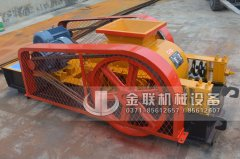 2PG400X250小型对辊破碎机发货图片_发往江苏苏州_破碎硅铁