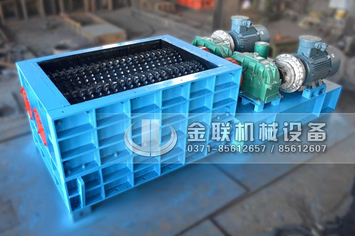 2PLF50/150型强力齿辊式破碎机发货图片_发往山西太原_煤矿破煤