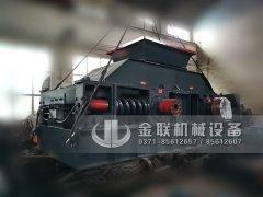 2PG1208大型液压直联对辊破碎机发往浙江
