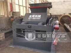 1500x800直连式大型液压对辊破碎机发往陕西