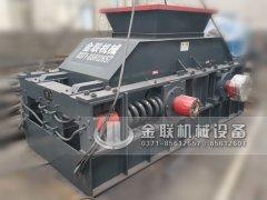 2PG1200x800弹簧式对辊破碎制砂机发货图片