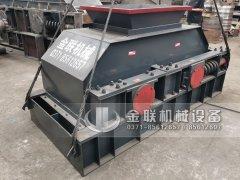中型制砂机-液压对辊制砂机设备发货图片