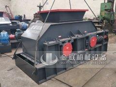 2PG1200x800直连式液压对辊破碎制砂机发货 发往河南郑州