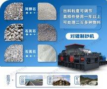 中型河卵石制砂机的时产量是多少,是怎么工作的?